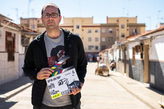 Paco Cabezas, director de cine sevillano, presenta 'Adiós'
