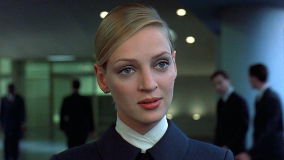 Uma Thurman en la película Gattaca.