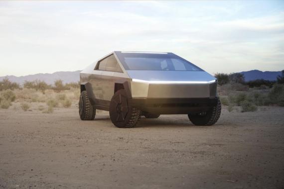 El Cybertruck de Tesla.