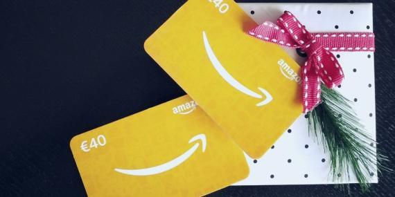 Así se canjean y funcionan los cheques regalo de Amazon