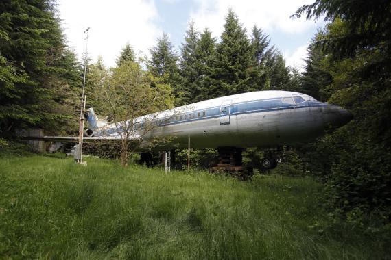 Boeing convertido en casa