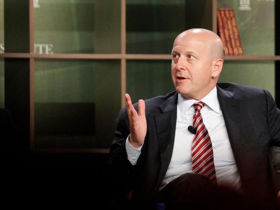 David Solomon, visto antes de convertirse en CEO de Goldman Sachs, contrató a Marci Argenti y a otros ejecutivos para ayudar a impulsar un cambio hacia métodos más tecnológicos.