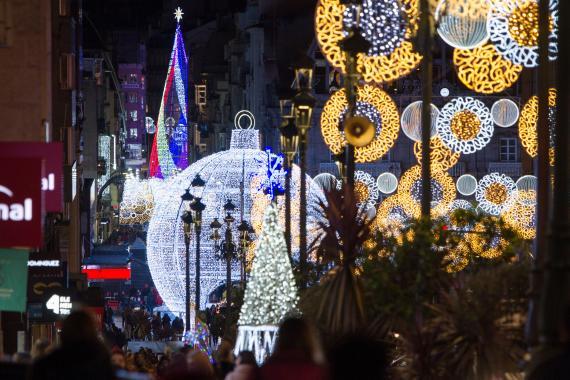 Decoración navideña de Ilumaciones Ximénez.