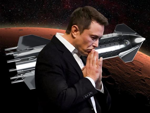 Elon Musk y SpaceX están desarrollando un cohete de acero llamado Starship