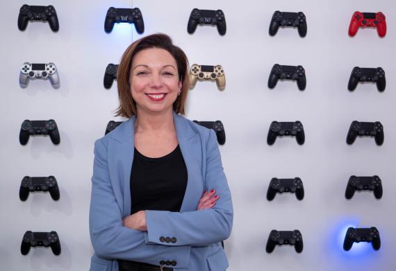 Liliana Laporte, directora general de Sony Interactive Entertainment (SIE) Iberia.