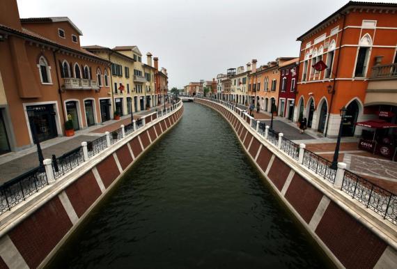 Florentia Village, réplica de Venecia.