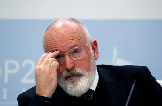 Frans Timmermans, vicepresidente de la Comisión Europea