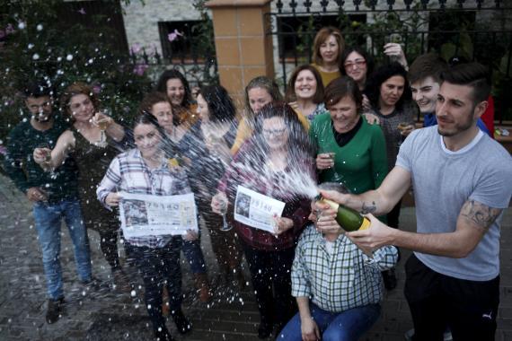 Ganadores de la lotería de El Gordo de Navidad