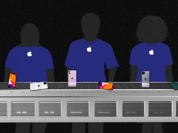 How Apple's push to rule the smartphone industry has made Apple Store employees feel like robots