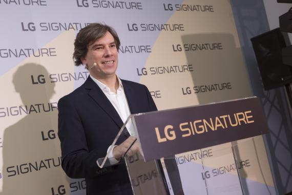 Miguel Ángel Fernández director de Marketing LG
