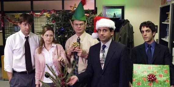 The Office Navidad