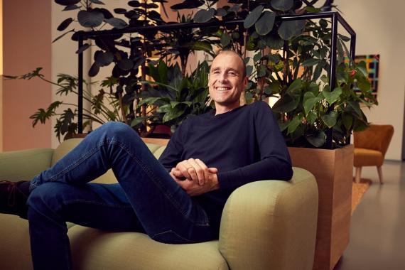 Pieter van der Does, CEO y fundador de Adyen