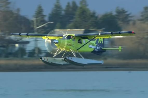 Primer avión comercial totalmente eléctrico