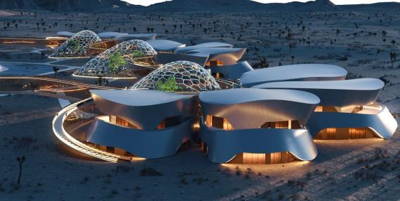 El proyecto Ebios reproducirá las condiciones extremas de Marte en el desierto de Mojave, en California.