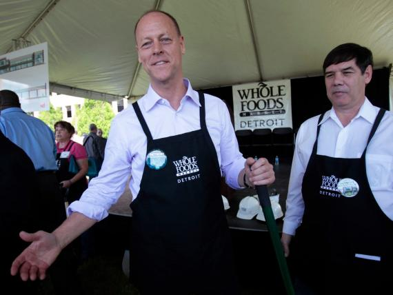 Walter Robb, CEO de Whole Foods