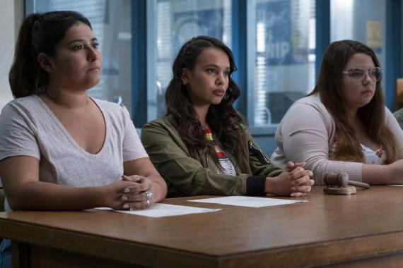 """Por 13 razones"", serie original de en Netflix."