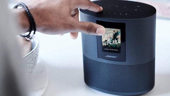 El altavoz inteligente Bose Home Speaker 500, uno de los mejores del mercado, de oferta en Amazon España.