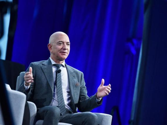 El CEO Amazon, Jeff Bezos.