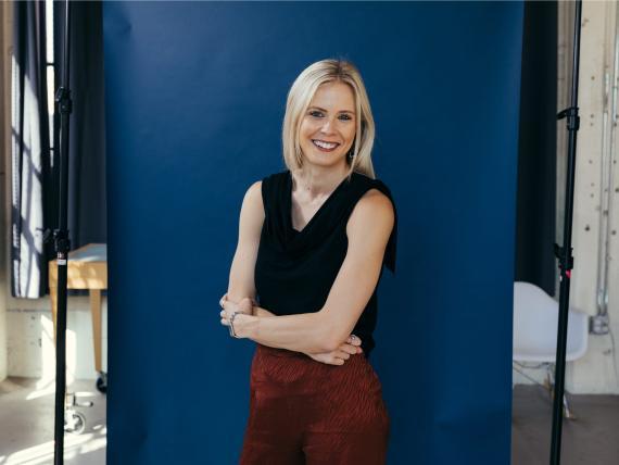 Brianne Kimmel, fundadora y directora ejecutiva de Work Life Ventures