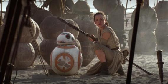 """¿Reconociste al equipo de Rey al final de la película? Todo sobre """"Star Wars: El despertar de la fuerza""""."""