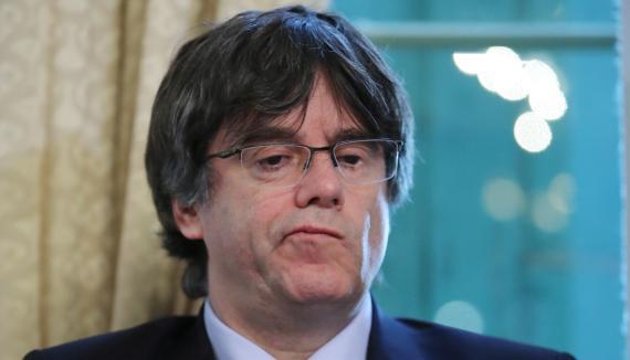 El expresident de la Generalitat Carles Puigdemont.