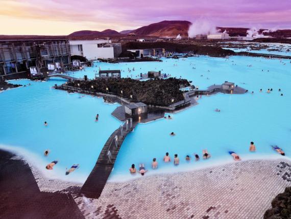 Laguna Azul de Islandia.