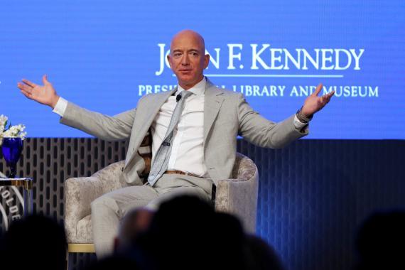 Jeff Bezos, CEO de Amazon