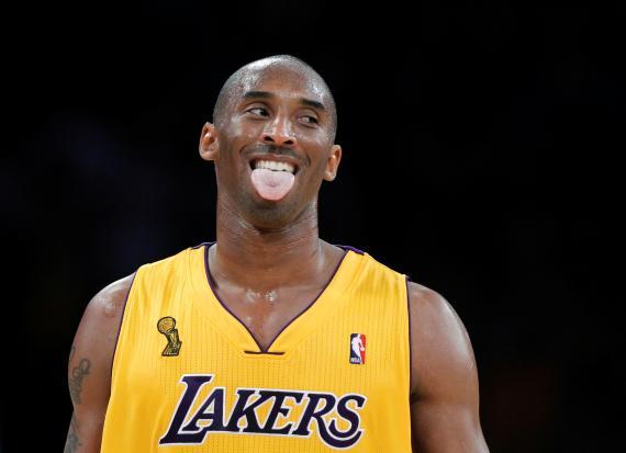 Kobe Bryant jugó su carrera en la NBA íntegramente en Los Ángeles Lakers.