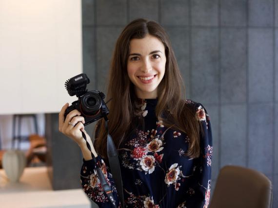 Marina Mogilko, creadora de tres canales en YouTube.