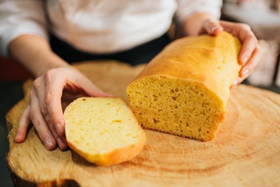 Pan de molde.