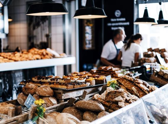 panadería, pastelería, pasteles