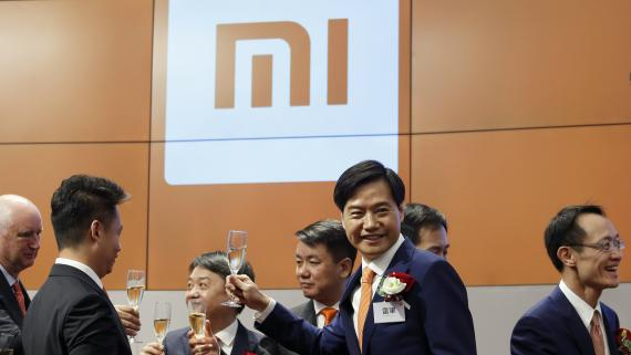 El presidente y CEO de Xiaomi, Lei Jun.