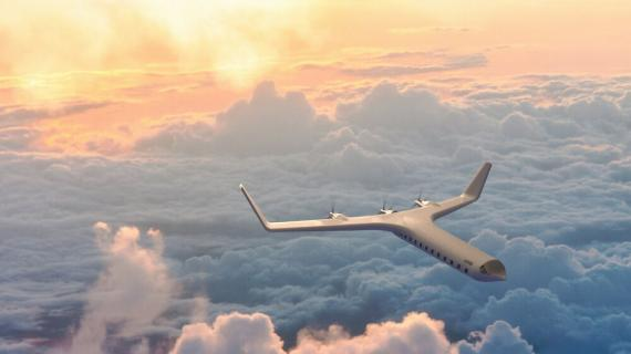 El prototipo de avión eléctrico ZER0