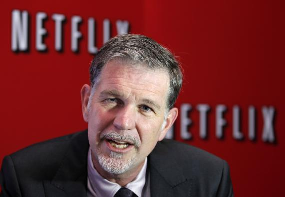 Reed Hastings, CEO de Netflix.