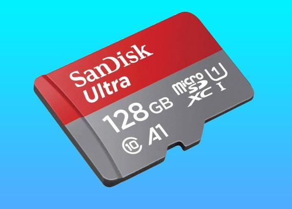 Tarjeta microSD SanDisk Ultra de 128GB