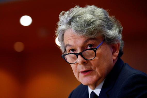 Thierry Breton, comisario europeo de Mercado Interior.