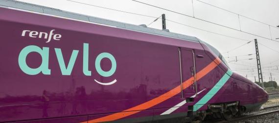 Tren AVLO de Renfe.