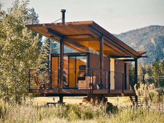 Woody's imagined tiny house.