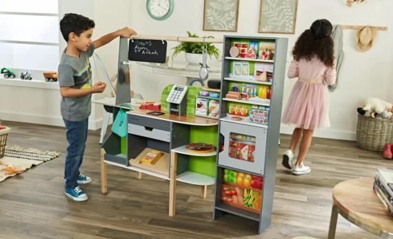 Alexa llega a los juguetes: esta cocina para niños interactúa que el asistente personal de Amazon