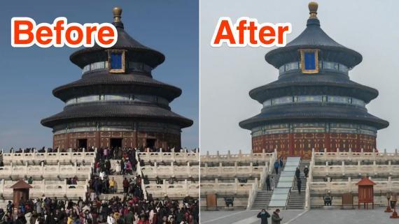 Atracciones turísticas de antes y después del coronavirus