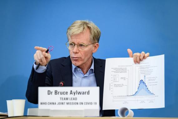 Bruce Aylward.