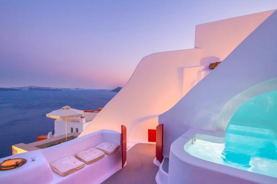 Casa Santorini en Aibnb