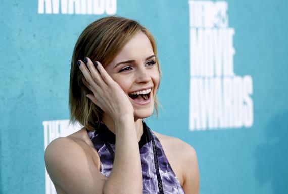 Enma Watson en los MTV Movie Awards.