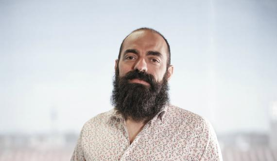 El fundador y CEO de ElParking, Enrique Domínguez.