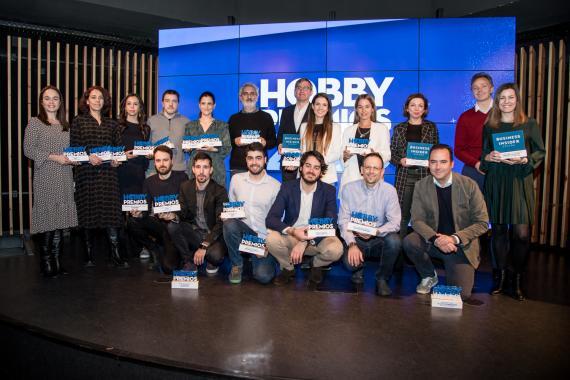 Galardonados en los premios Hobby Premios 2020
