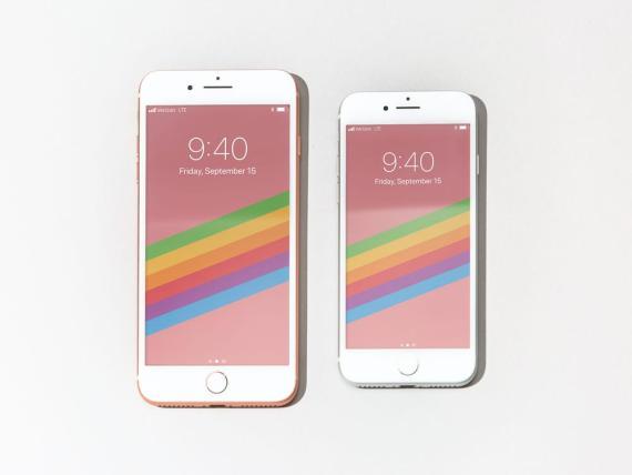 El iPhone 8 y el iPhone 8 Plus