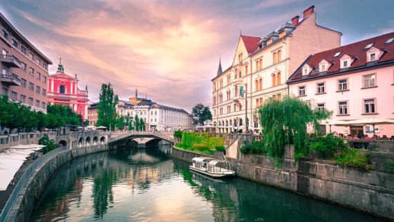 Liubliana es uno de los lugares ideales para vivir en pareja sin pagar demasiado.