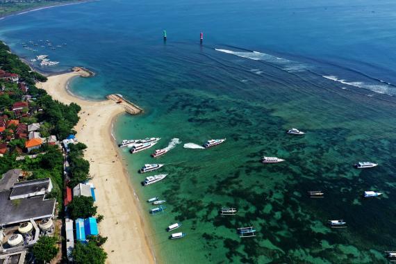 Playa de Sanur, Indonesia.