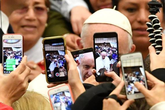 Pope Francis has embraced technology but has also warned of consequences.
