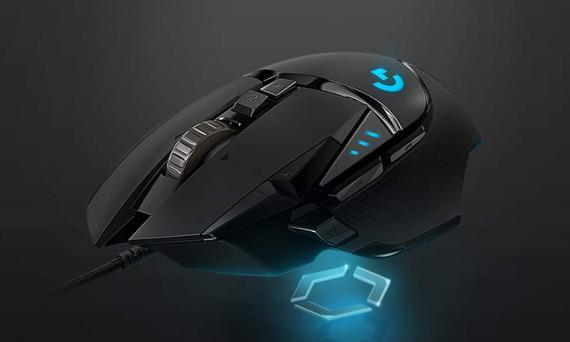 raton gaming Logitech G502 Hero